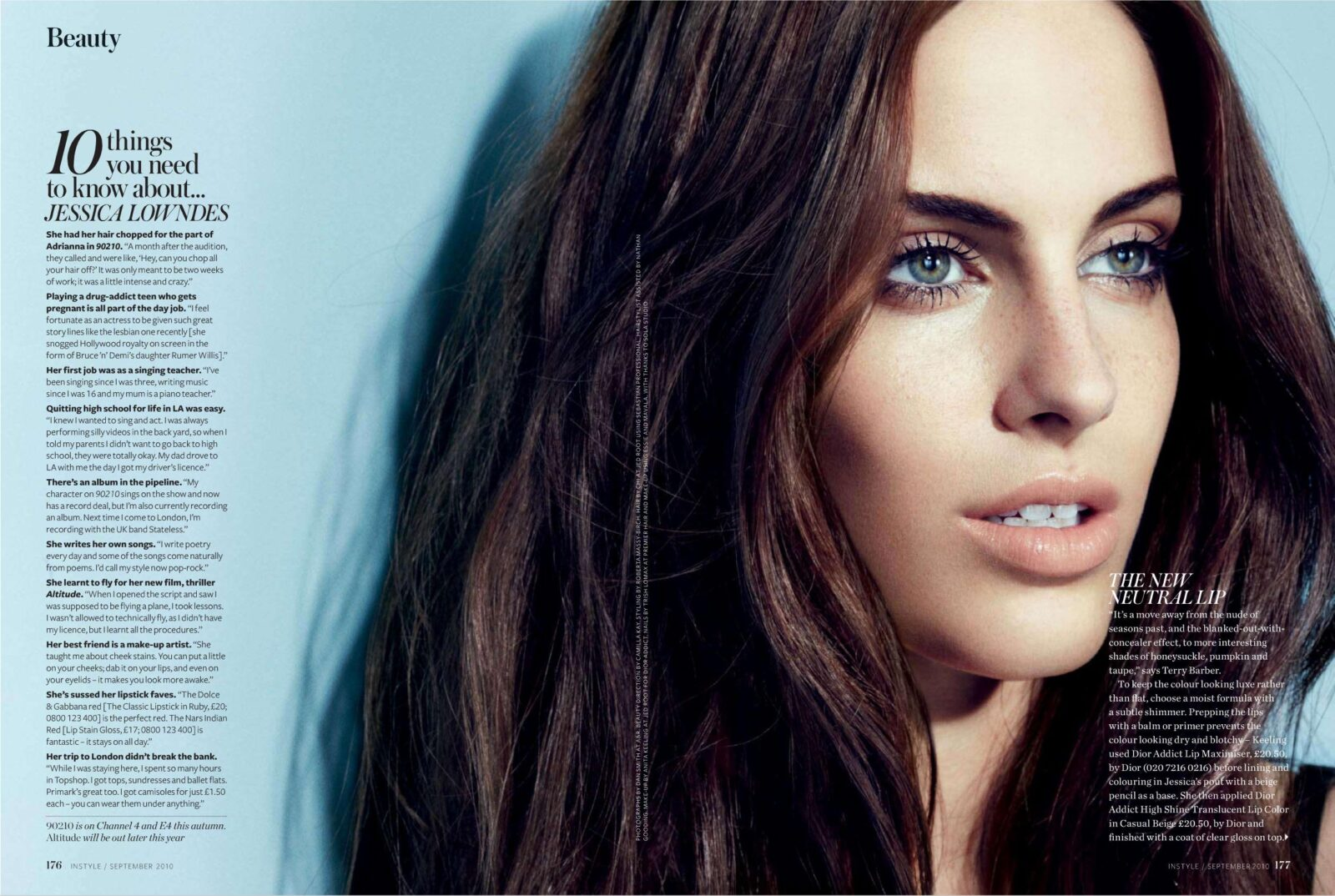 Image 10 things you need to know about Jessica Lowndes