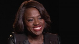 Wallpaper Viola Davis black background