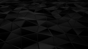 Hexagon black abstract