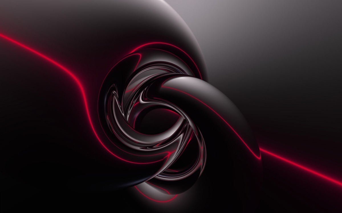 Download black abstract wallpapers