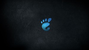 black abstract blue footprint high definition image