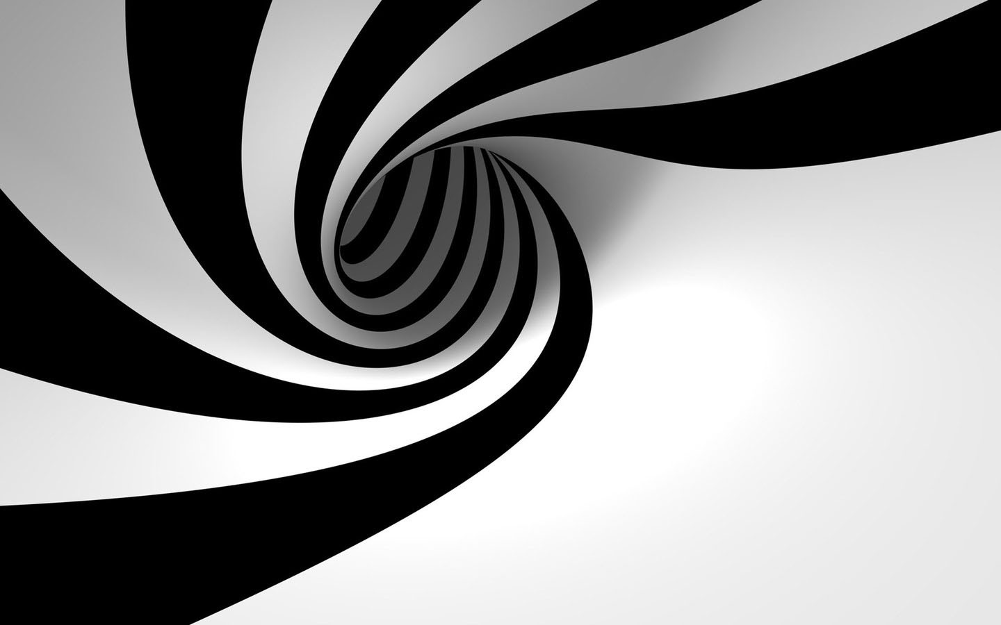 swirl of hypnosis white abstract black and white stripes