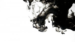 Black smoke white abstract image for free download