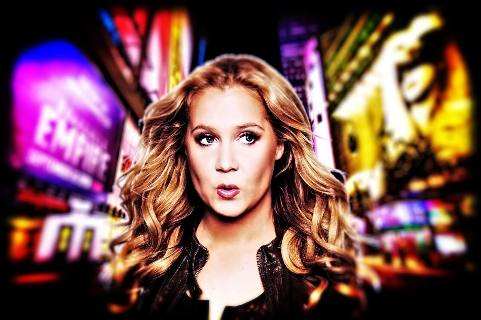Amy Schumer HD wallpaper