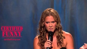 Amy Schumer angry