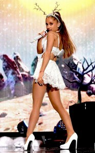 Ariana Grande in the scene