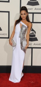 Ariana Grande white dress