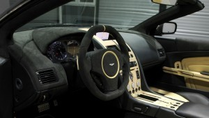 Aston Martin db9 black interior