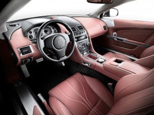 Aston Martin db9 new interior