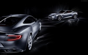Aston Martin db9 black background