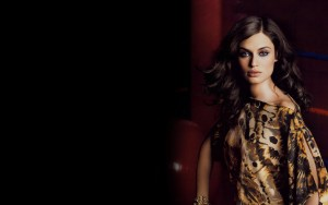 Download Bianca Balti black background