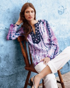 Photo Bianca Balti is sitting