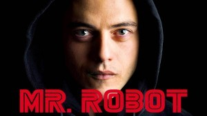 Mr. Robot Elliot Alderson black background
