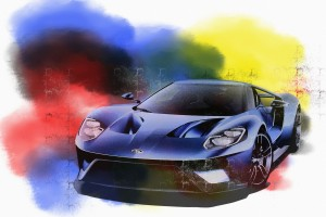 Ford GT 2016 Art