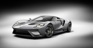 Ford GT 2016 black and white