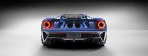 Ford GT 2016 rear bumper