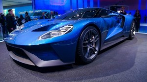 Ford GT 2016 blue