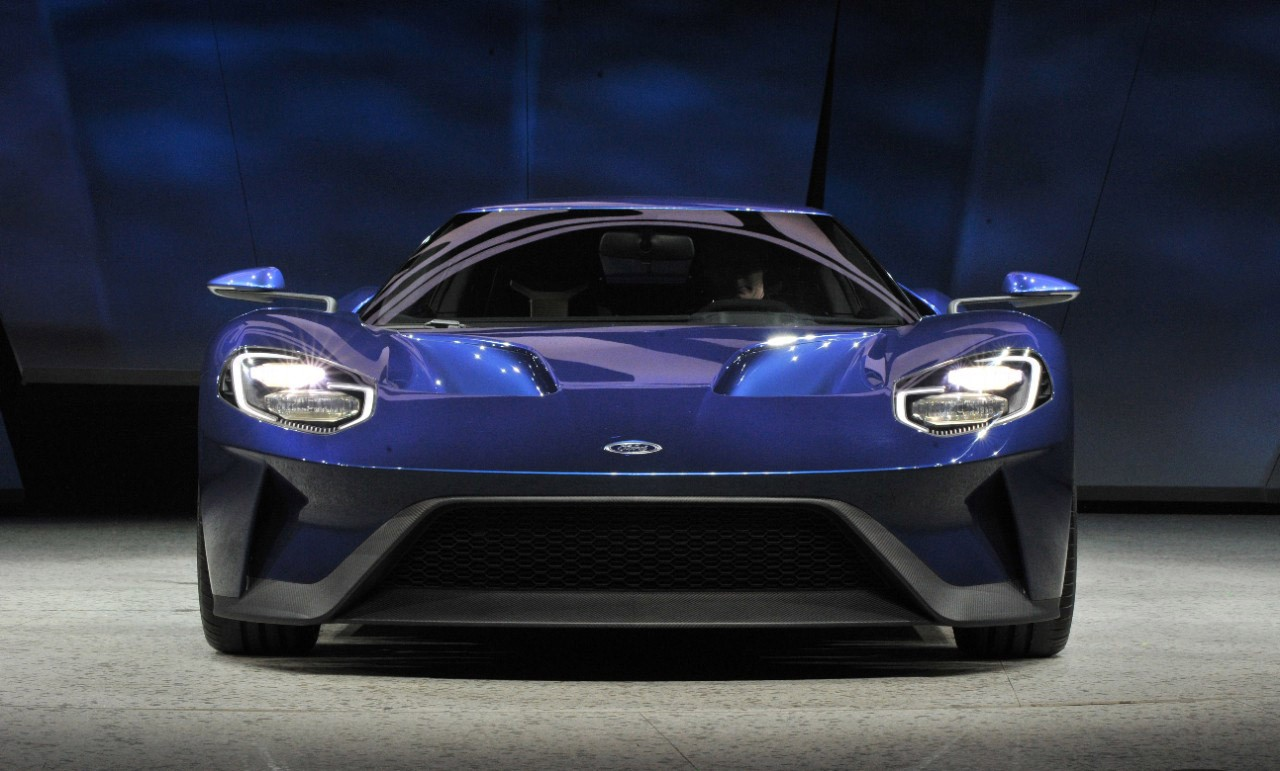 Ford GT 2016 front bumper