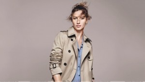 Gisele Bundchen in coat