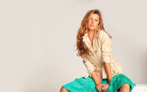 Blonde Gisele Bundchen high quality picture