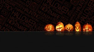 Helloween black background
