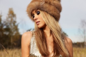 Wallpaper Ksenia Sukhinova in the hat
