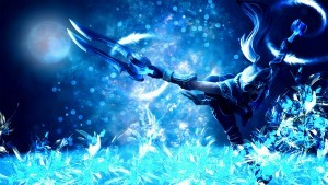 League of Legends Akali background HD
