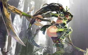 League of Legends Akali HD pics