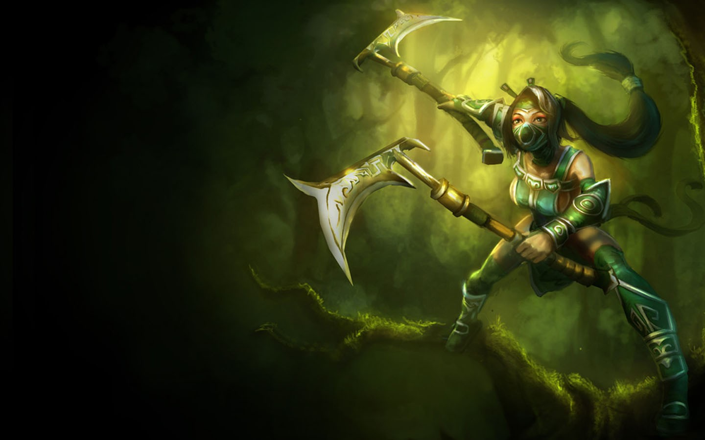 League of Legends Akali for desktop