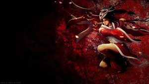 League of Legends Akali wallpaper