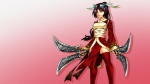 League of Legends Akali free wallpaper