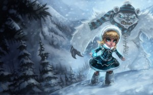 League of Legends Annie frost picture HD