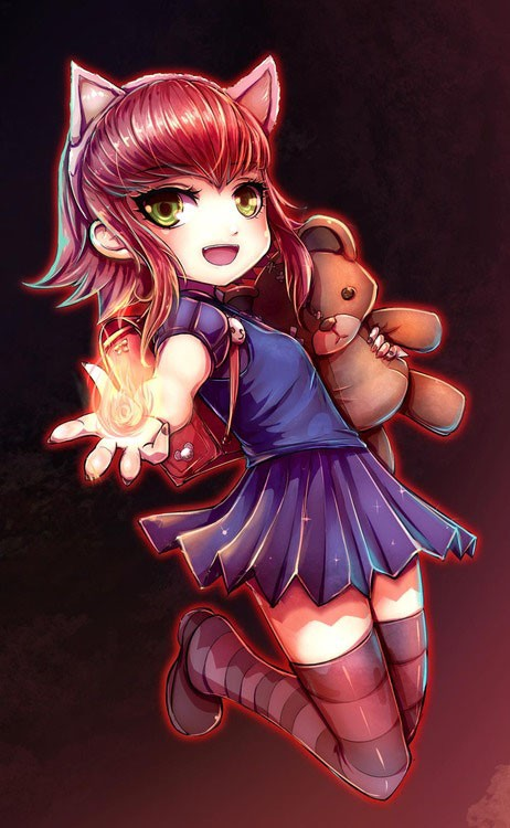 League of Legends Annie with bear