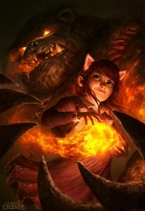 League of Legends Annie for mobile