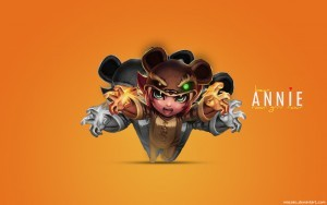 League of Legends Annie HD wallpapers