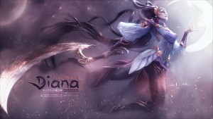 League of Legends Diana 1080p
