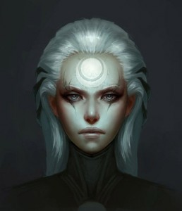 Image League of Legends Diana face