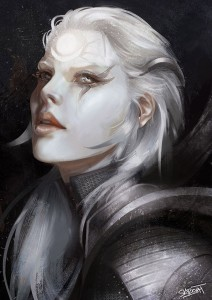 League of Legends Diana face