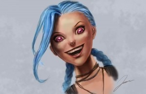 League of Legends Jinx beauty photo