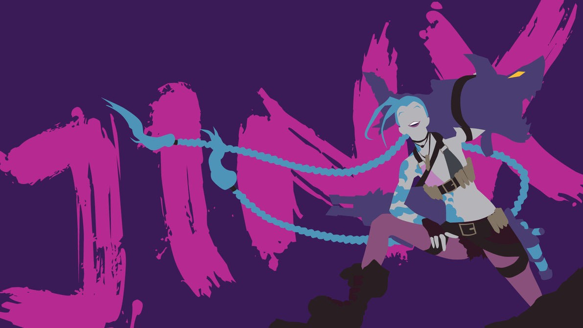 league of legends jinx wallpapers hd free download