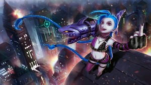 League of Legends Jinx HQ for desktop download