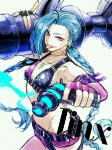 League of Legends Jinx lol