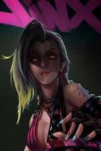 League of Legends Jinx high quality