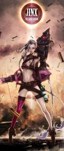 League of Legends Jinx for iPhone