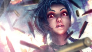 League of Legends Jinx for desktop