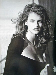young Linda Evangelista for iPhone