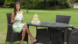 Free background Lucy Mecklenburgh at outdoor