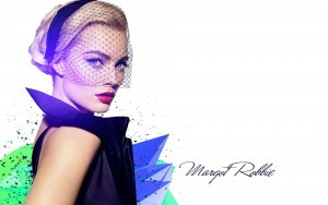 Margot Robbie white background