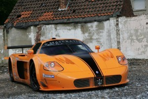 Maserati MC12 Corsa yellow