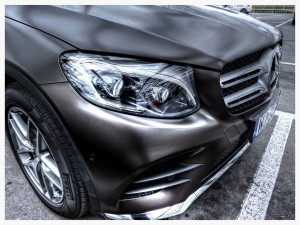 Mercedes-Benz GLC 2015 Front headlight